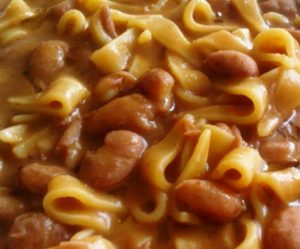 Bean soup- Cooking & Travelling - Venice Food & Wine tasting